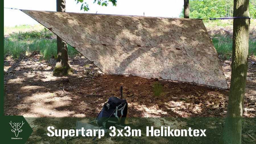 HELIKON-TEX Supertarp – 3x3m | první pohled