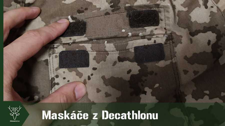 Maskáče Steppe 300 z Decathlonu