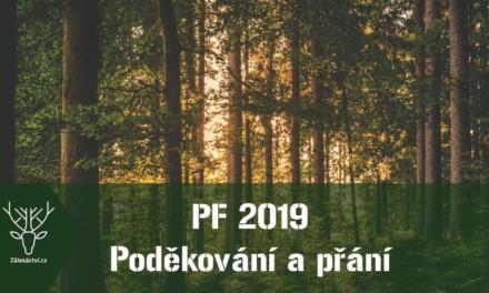 PF 2019 – přání a poděkování