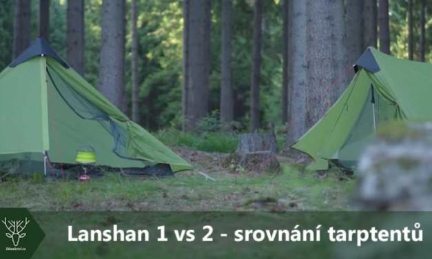 Lanshan 1 vs 2 – srovnání tarptentů