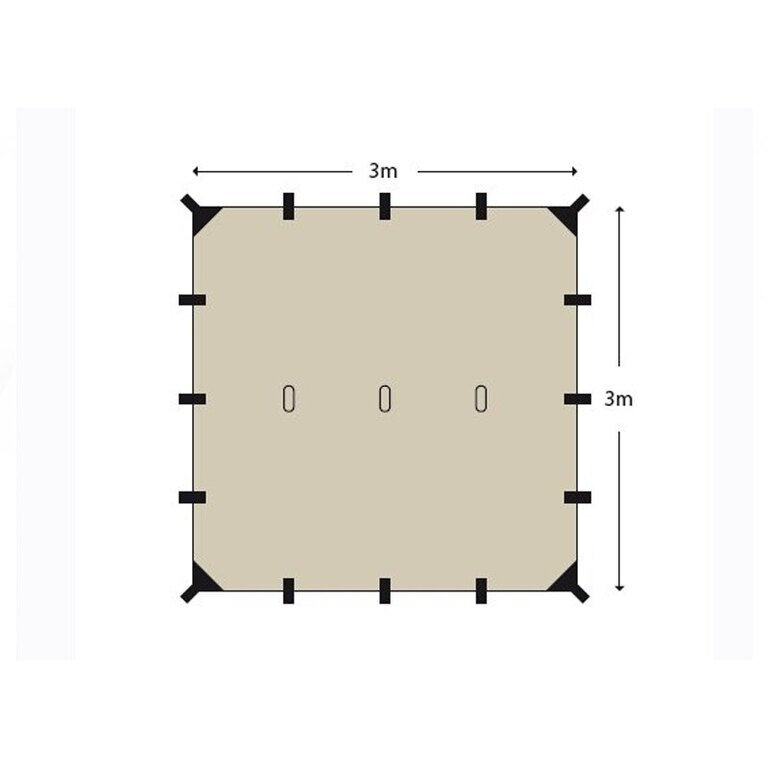 Helikontex Supertarp 3x3m 007